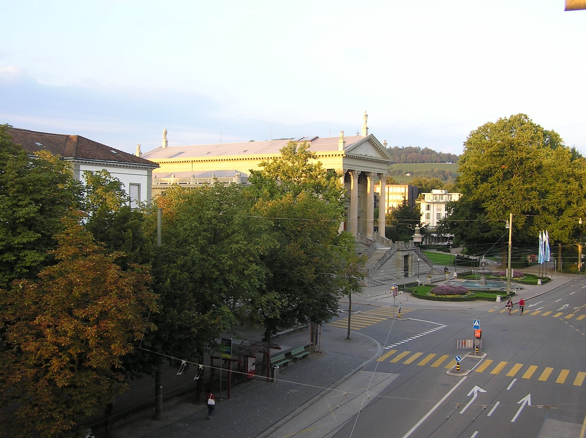 view on town hall