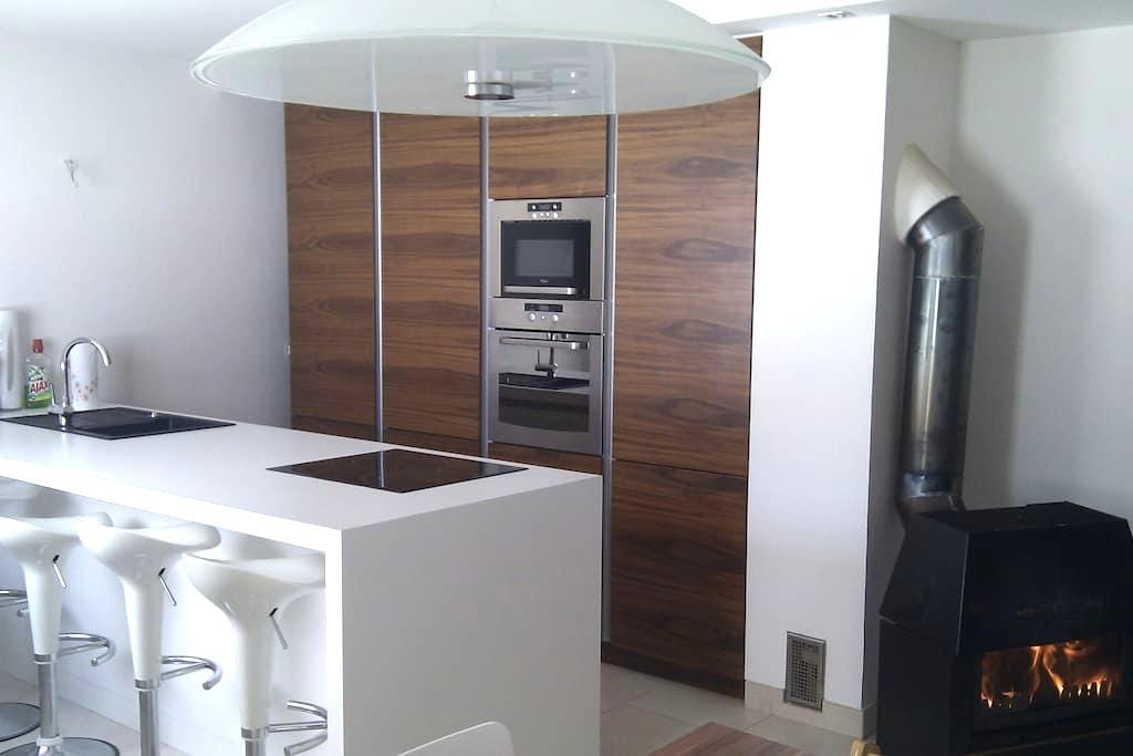 New modern country house at Rakitna - Preserje - Rumah