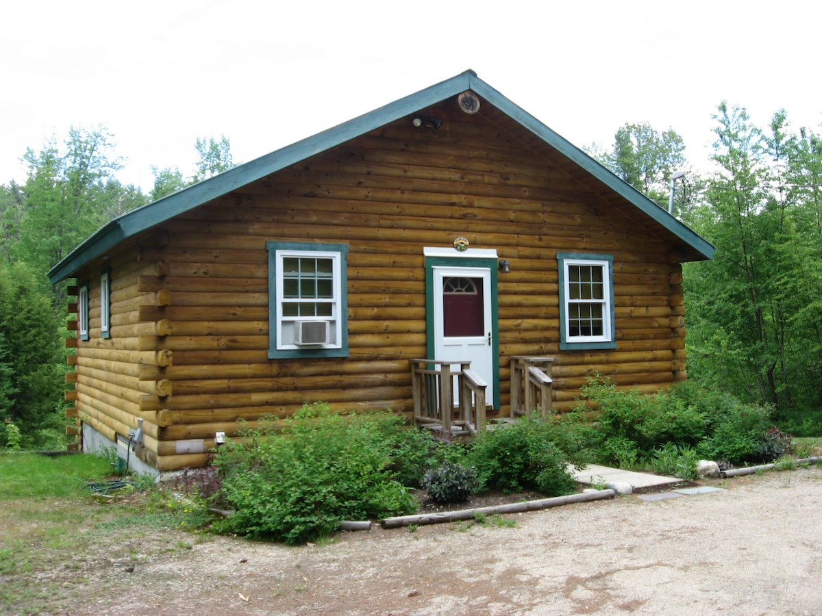Secluded cabin at reasonable rates.