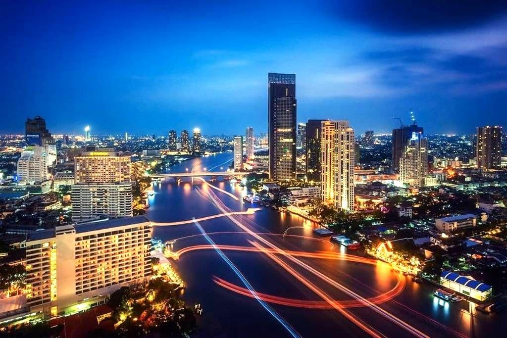 Gfeel studio ST23 close BTS Silom Line, River view - Bangkok - Apartment