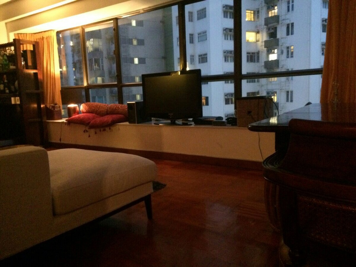 Room in Spacious flat~Happy Valley