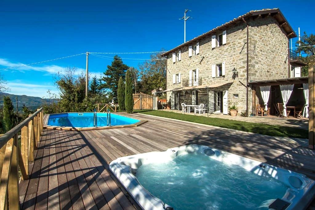 Accogliente casa con piscina e idro - Castiglione di Garfagnana - Ev