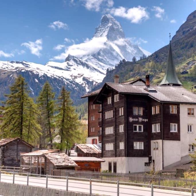 Holidays at the famous Matterhorn - Zermatt - Wohnung