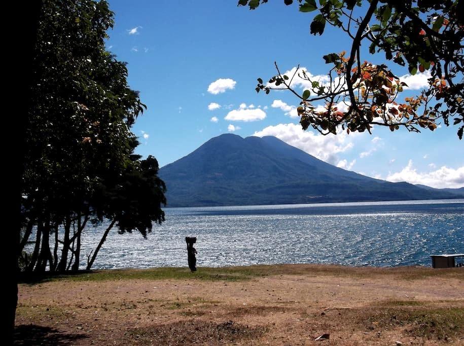 Fabulous Views of Vulcanos and Lake Atitlan - Lake Atitlán