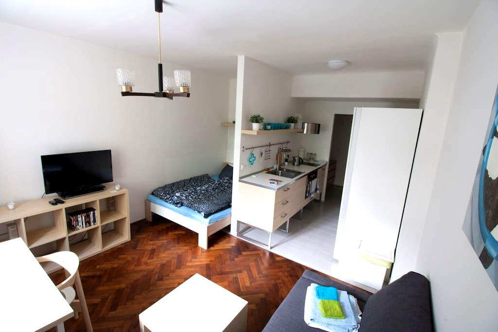 Cozy apartment, garden view ★Best rating in Brno!★ - Brno - Apartament