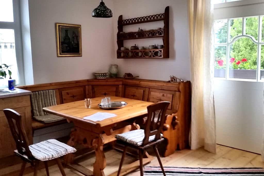 Luxury apartment in old town villa - Füssen - Leilighet
