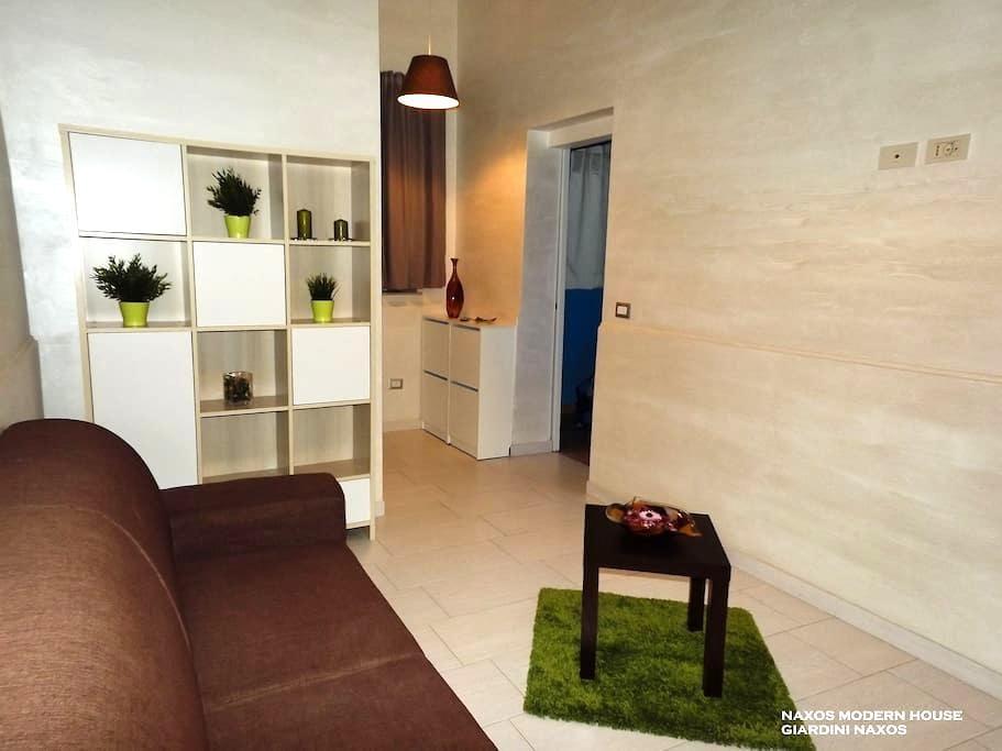 Naxos Modern House - Giardini Naxos - House