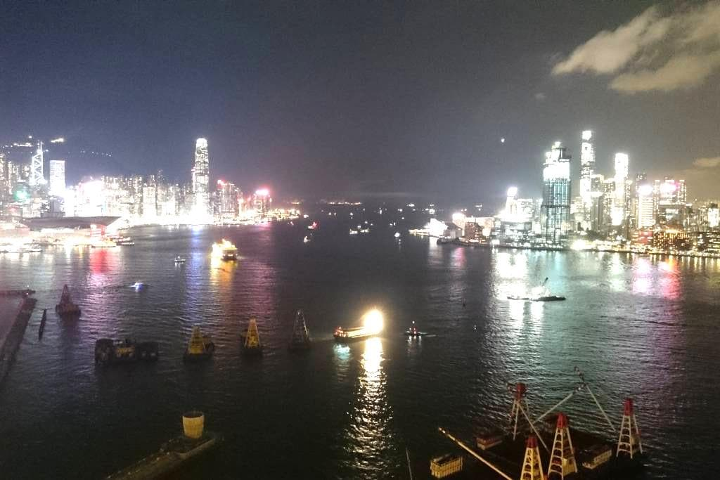 Amazing harbour view in Hong Kong - North Point - Apartment