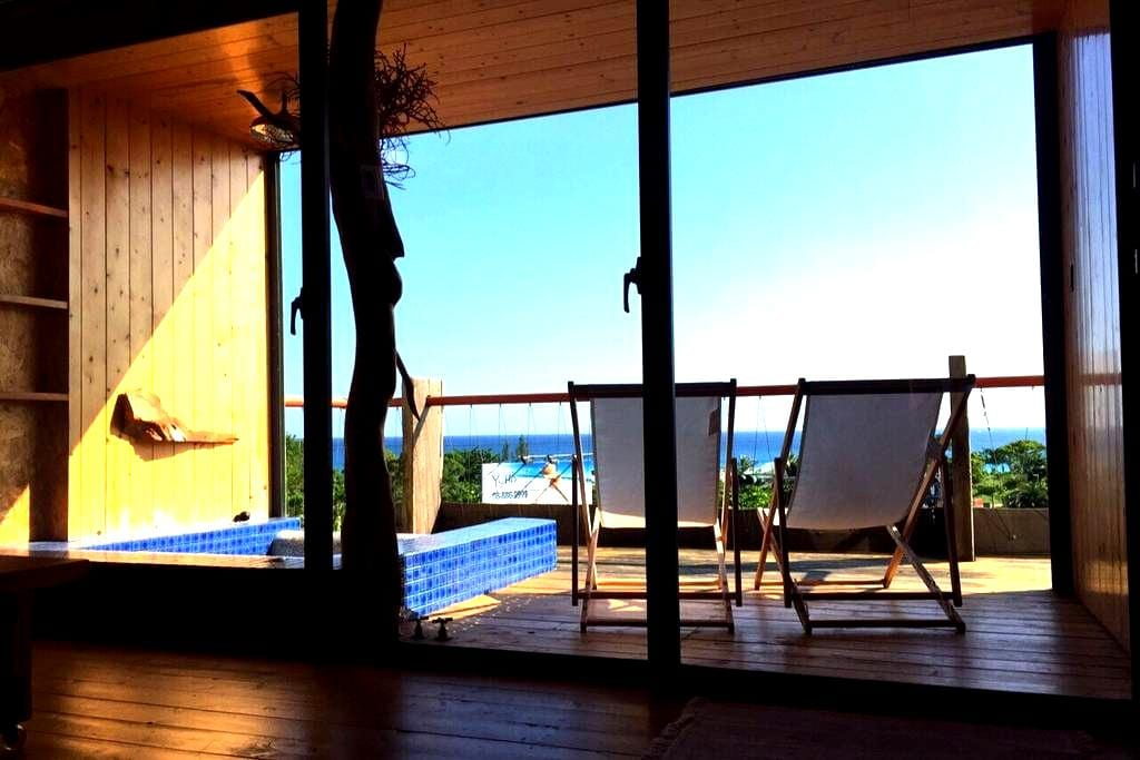 Aloha Inn_Kenting Maui 海景四人(雙人)房 - Hengchun - Bed & Breakfast