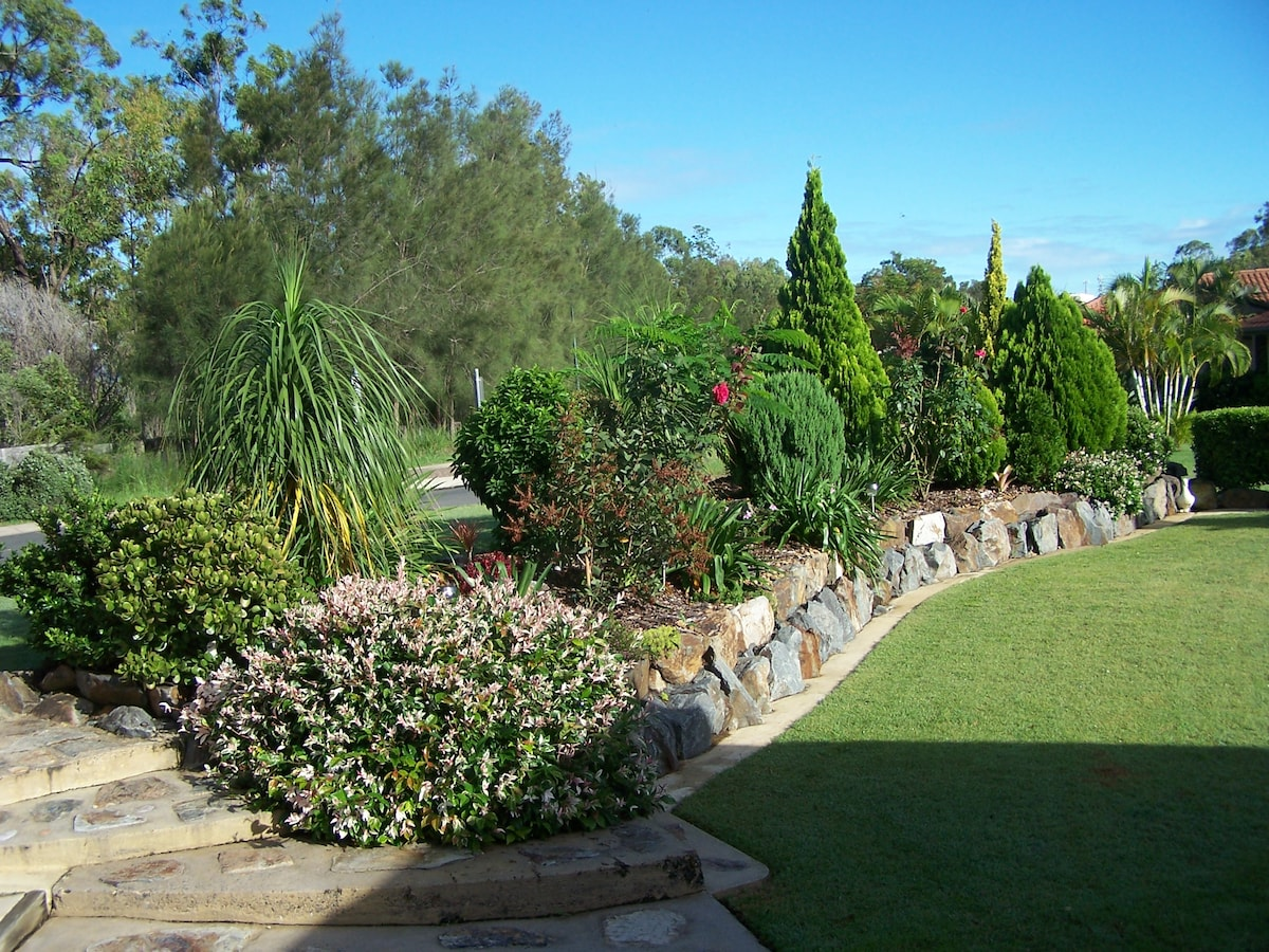 Outlook from the Garden Flat