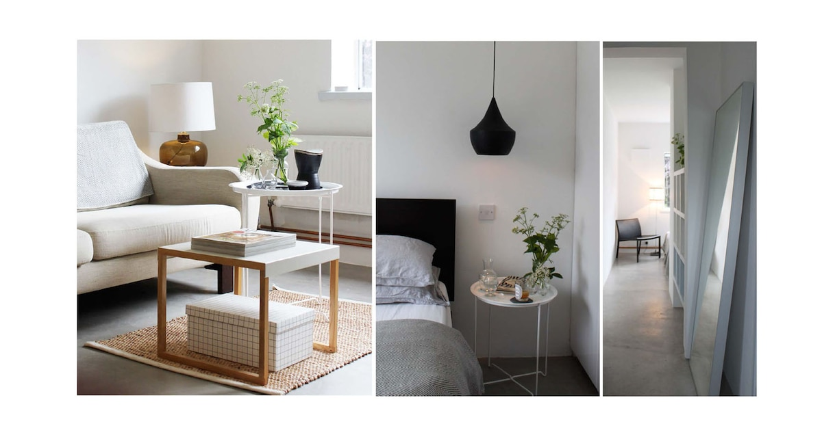 Bright modern central apartment