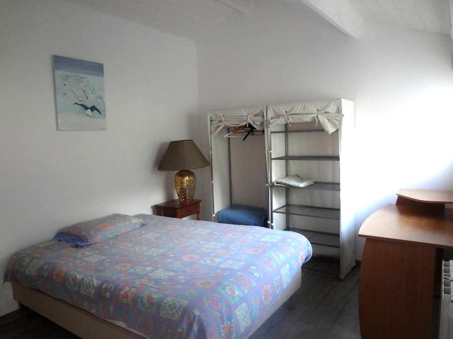 chambre dans apparement au rez de jarin - Ploemeur - Lägenhet