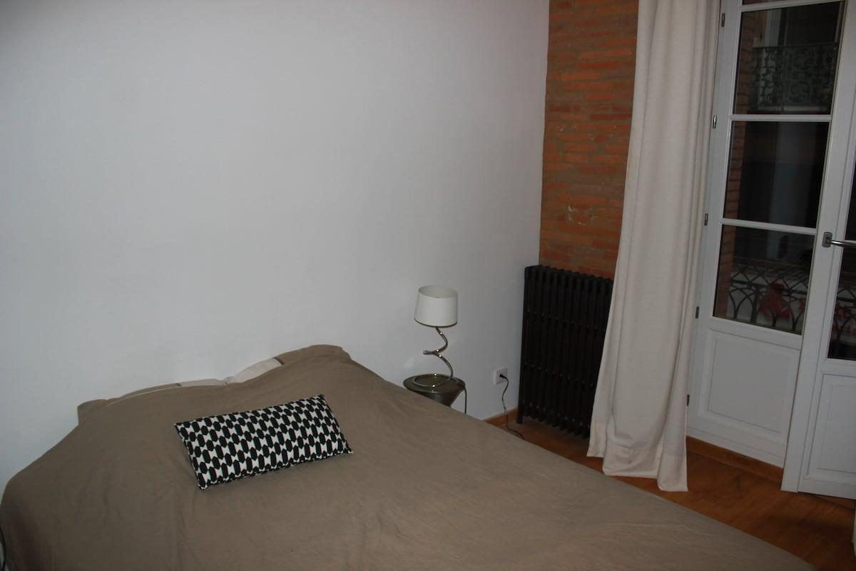 Chambre dans bel appartement CENTRE
