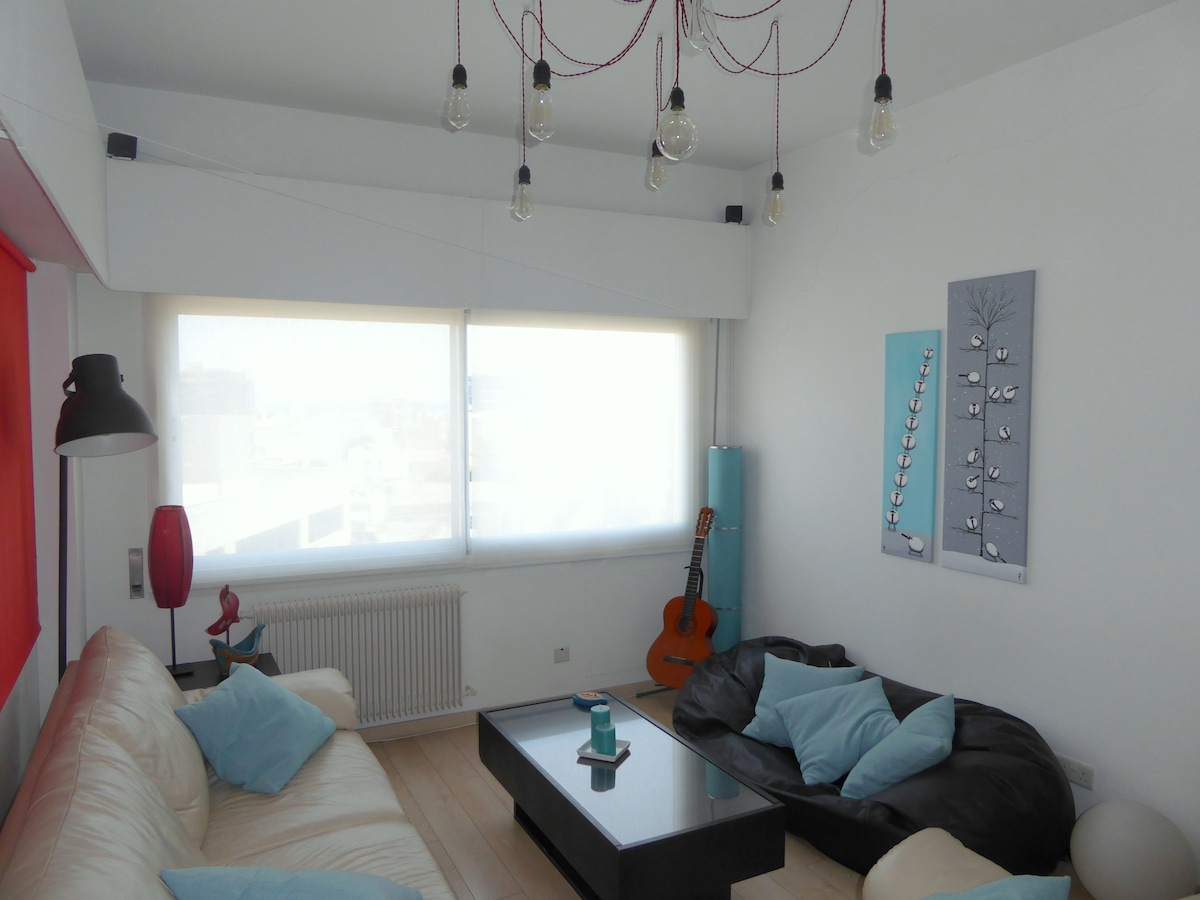 LIMASSOL CENTRE 1min from the BEACH