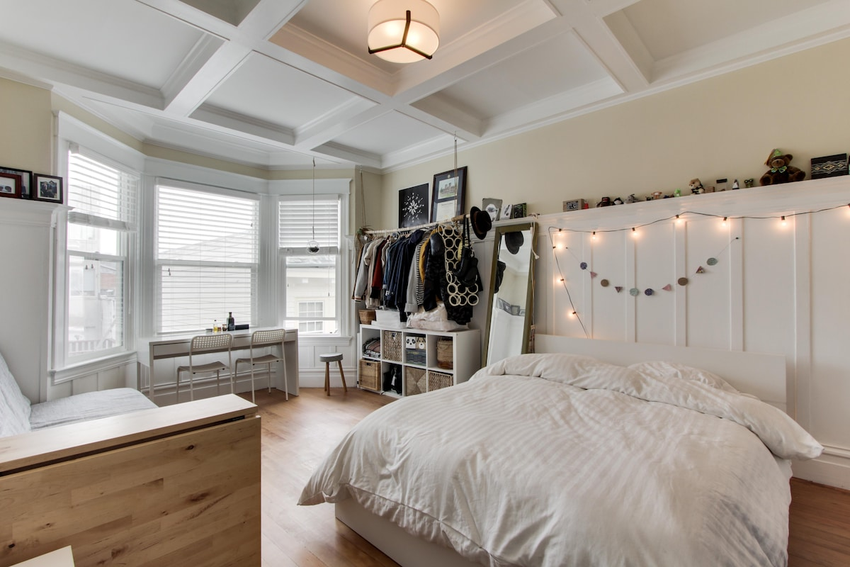 Private room in spacious 4BR (SOMA)