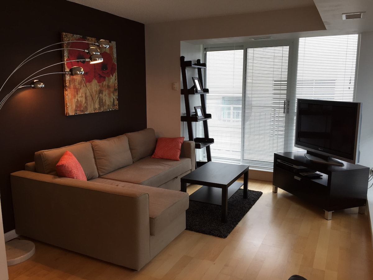 Spacious, bright condo in King West