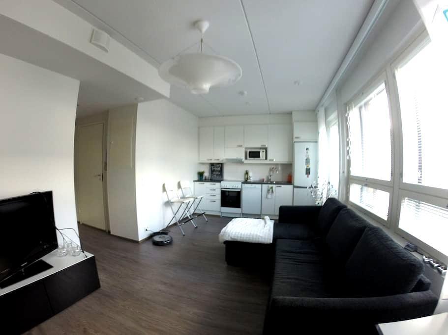 Lovely apartment with best location in Jyväskylä - Jyväskylä - Flat