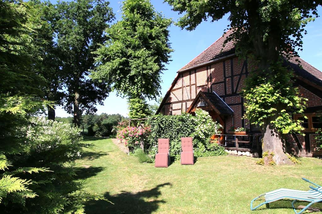 Fewo 1 im Forsthaus bei Schwerin - Wöbbelin