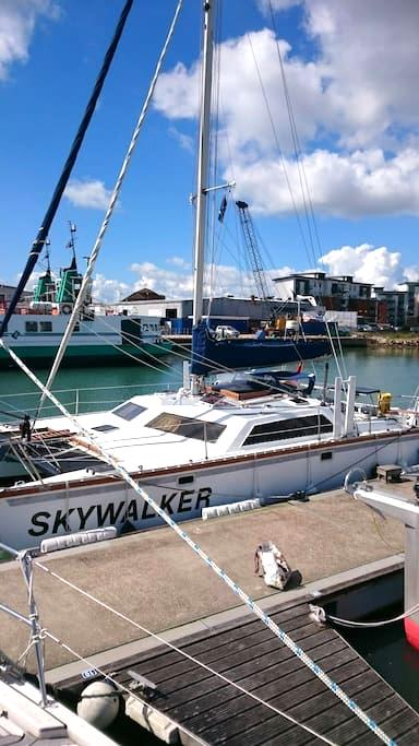 Skywalker Sailing Catamaran - Gosport  - Boot
