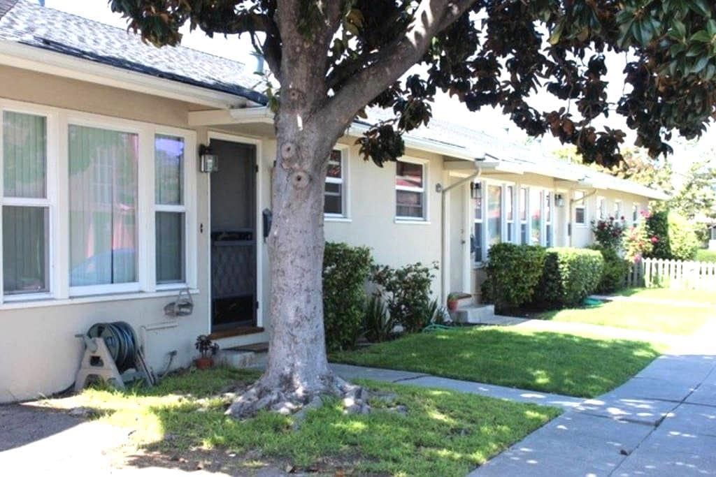 Nice/Quiet apt Closer to Stanford and (SENSITIVE CONTENTS HIDDEN) - Redwood City - Appartement