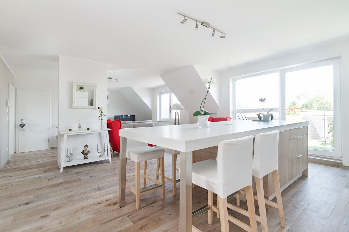Cosy and modern flat in city centre