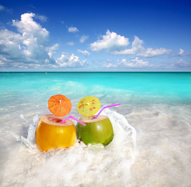 FREE! tropical  DRINKS in September