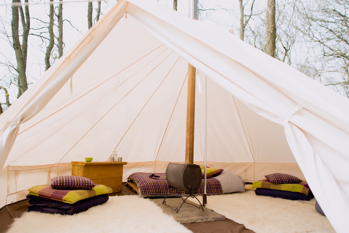 Ash Bell Tent - Cosy Under Canvas