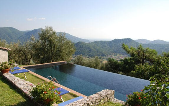 The Infinity Pool and the view.