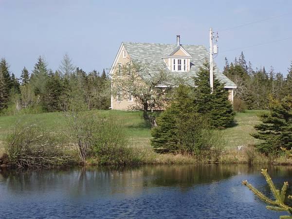 Cape Breton Farmhouse on 100 acres