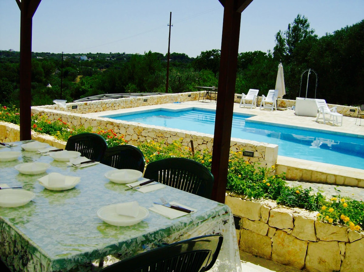 Villa with Pool and Lamie