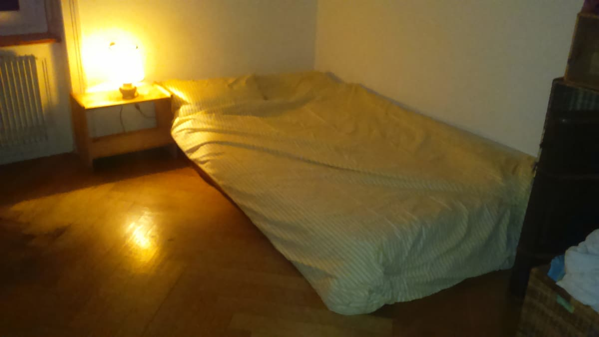 Double bed available for Art Basel