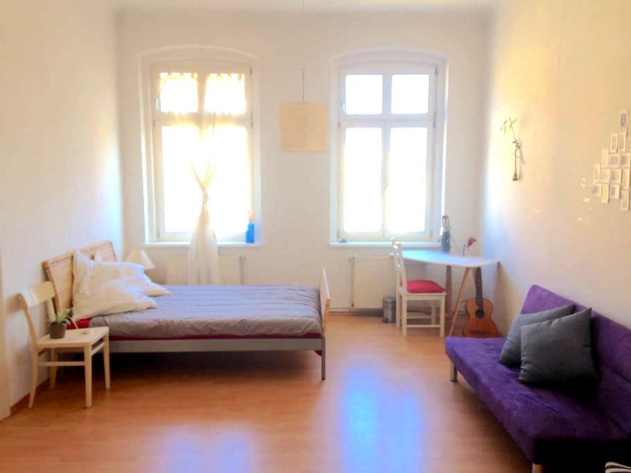 Nice central twin room in Görlitz innenstadt - Görlitz - Apartemen