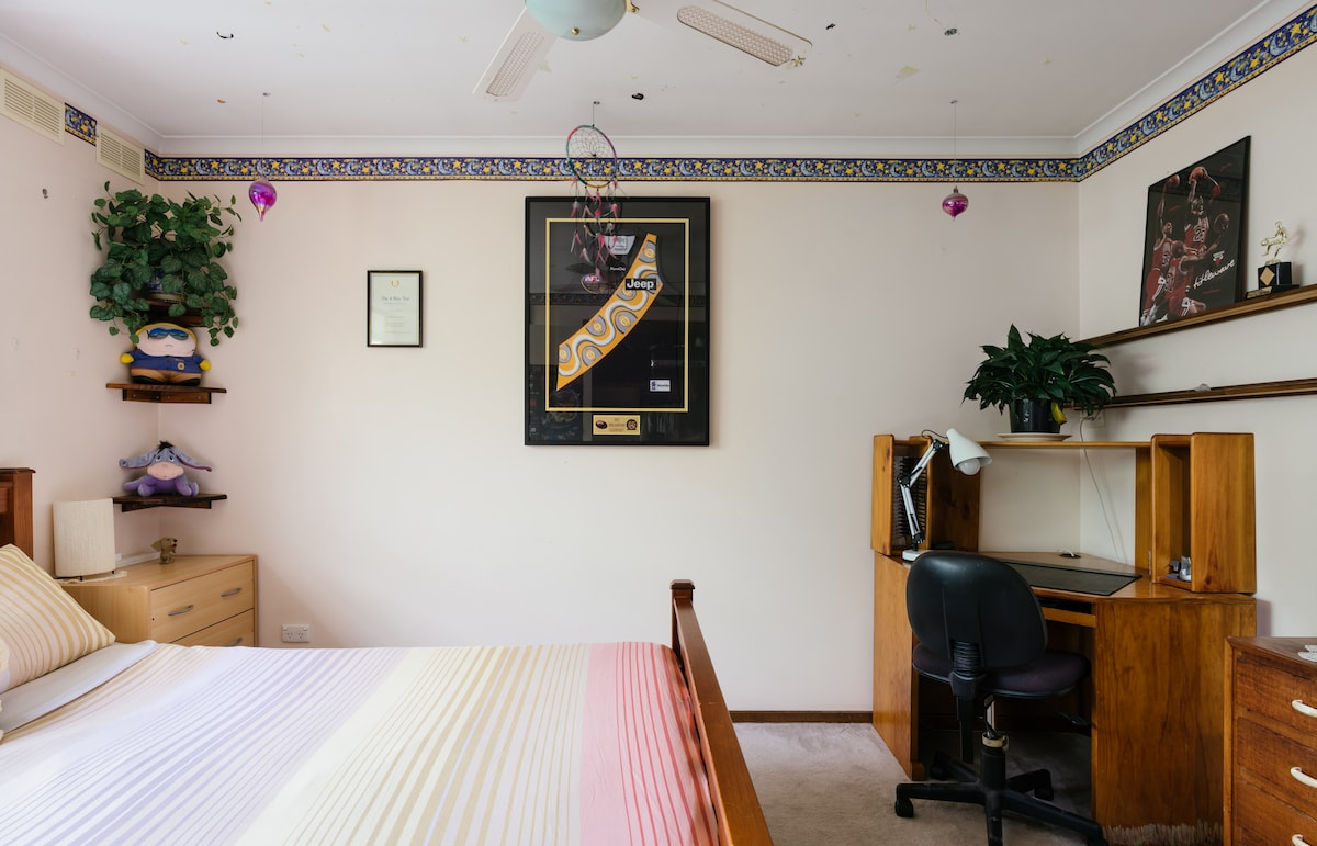 Melbourne Coastal Suburb Dble Room+