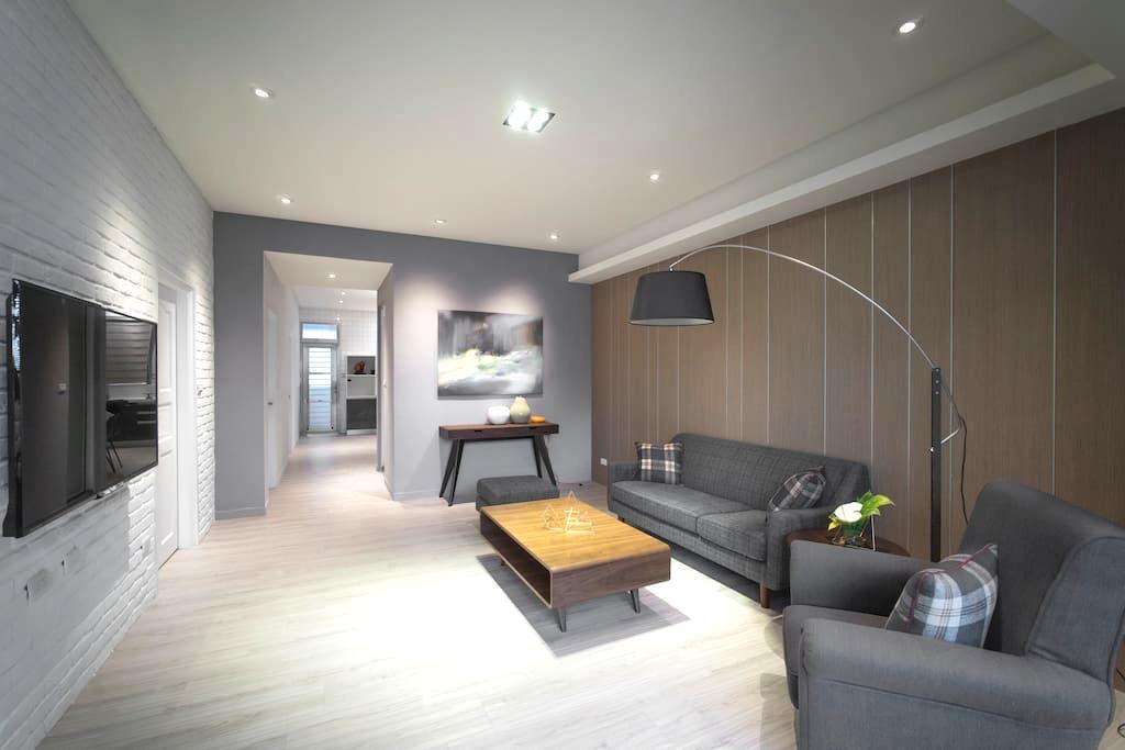 Four House 簡約典雅Soho三房公寓 - 花蓮 - Apartment