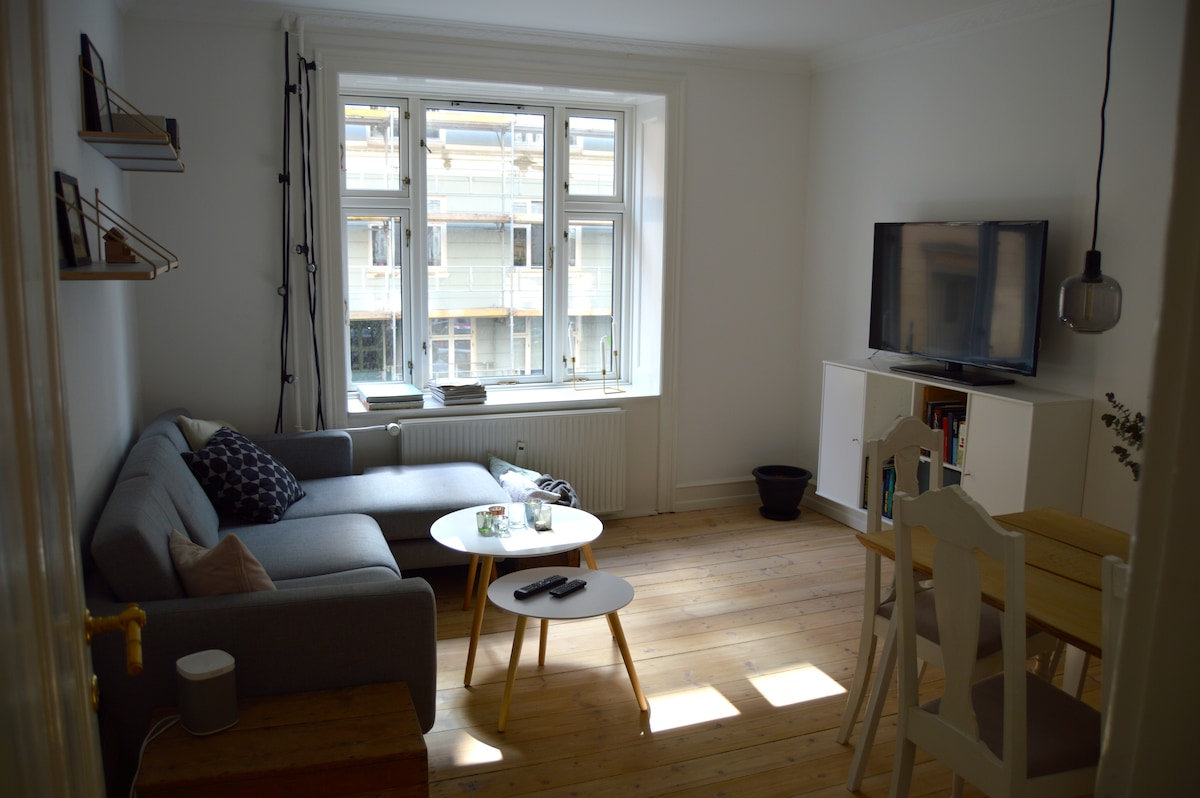 Cosy apartment in lovely Østerbro.