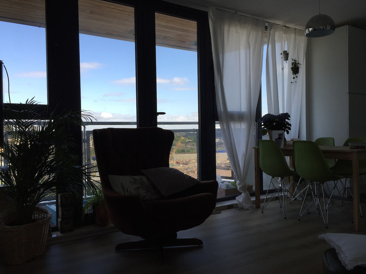 Designer Room with Olympic Views