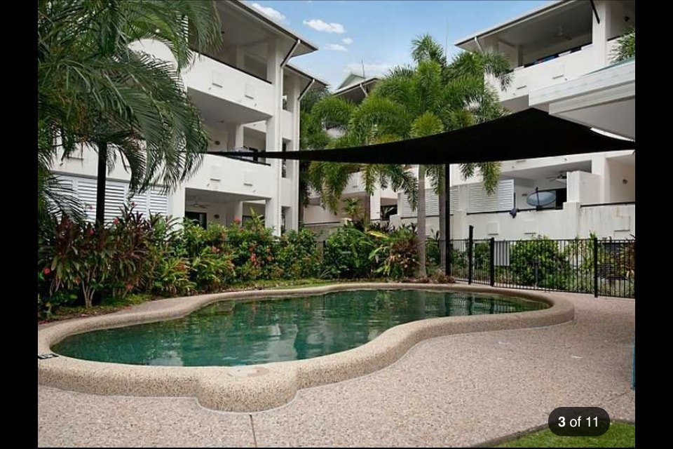 Enjoy a swim in the saltwater pool all year round with Cairns warm tropical winters and overly humid summers