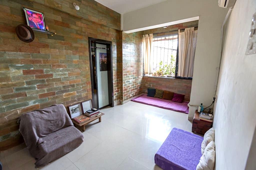 Cosy Studio Apartment near Bandra - Mumbai - Huoneisto