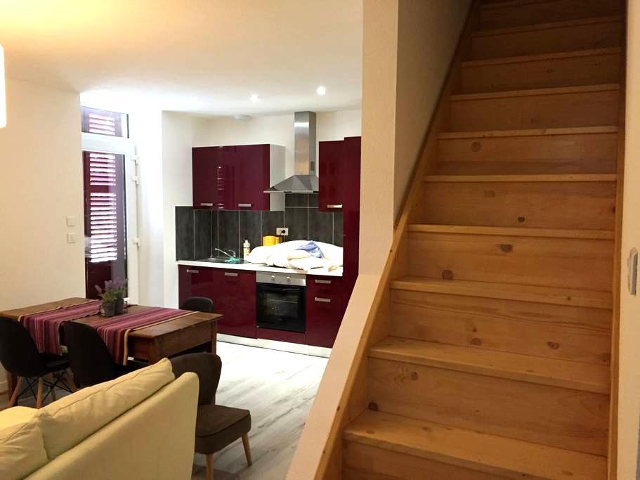 Appartement en duplex - Saint-Forgeux-Lespinasse - Apartament