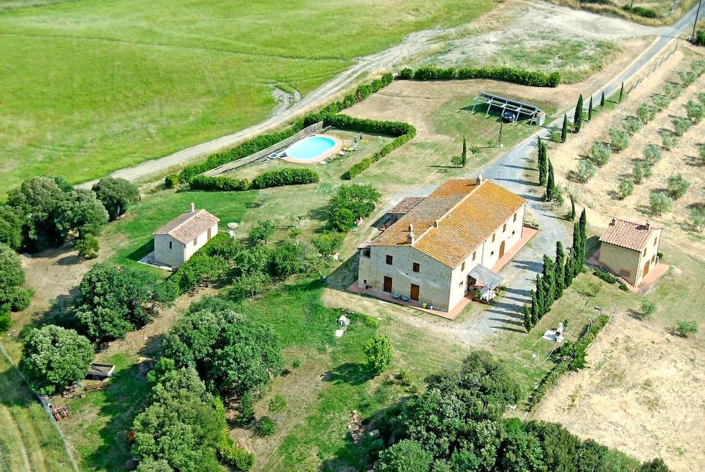 Appartamento Lavanda in Agriturismo - Pomarance - Haus