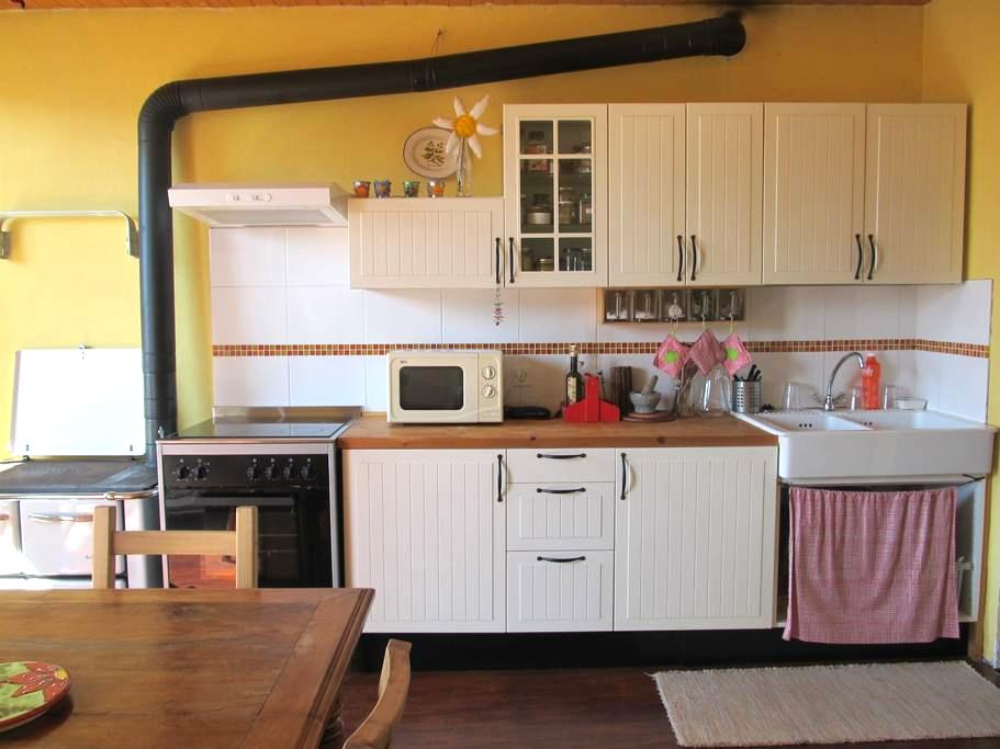 Cosy house in center, garden and sun - Locarno - Apartamento