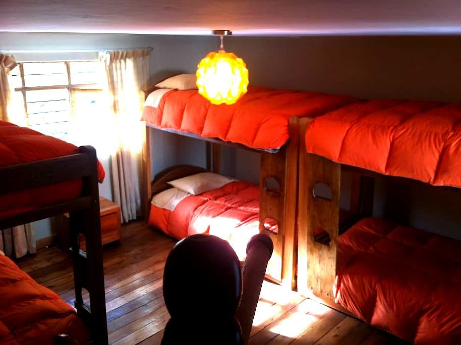 Dorms in the middle of the living Inca city - Ollantaytambo - Huis