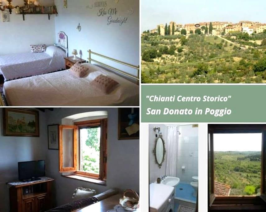 Chianti centro storico - San Donato - Apartmen