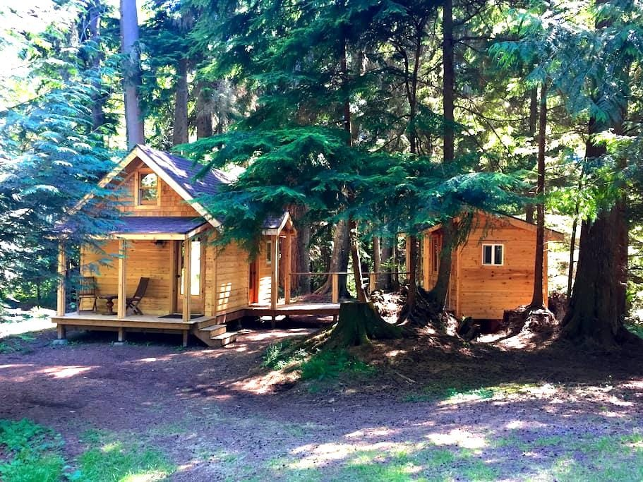 Eco-Friendly Tiny House - Vashon - Cabaña