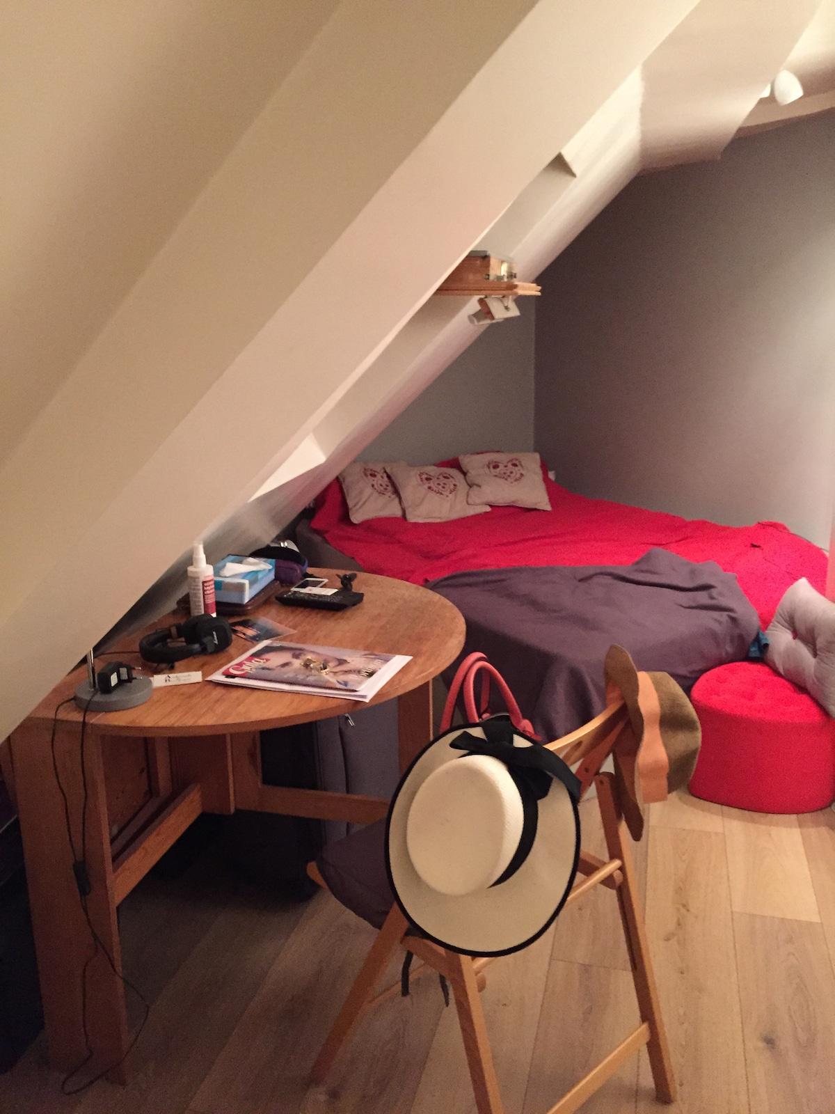 Cozy studio in central Paris