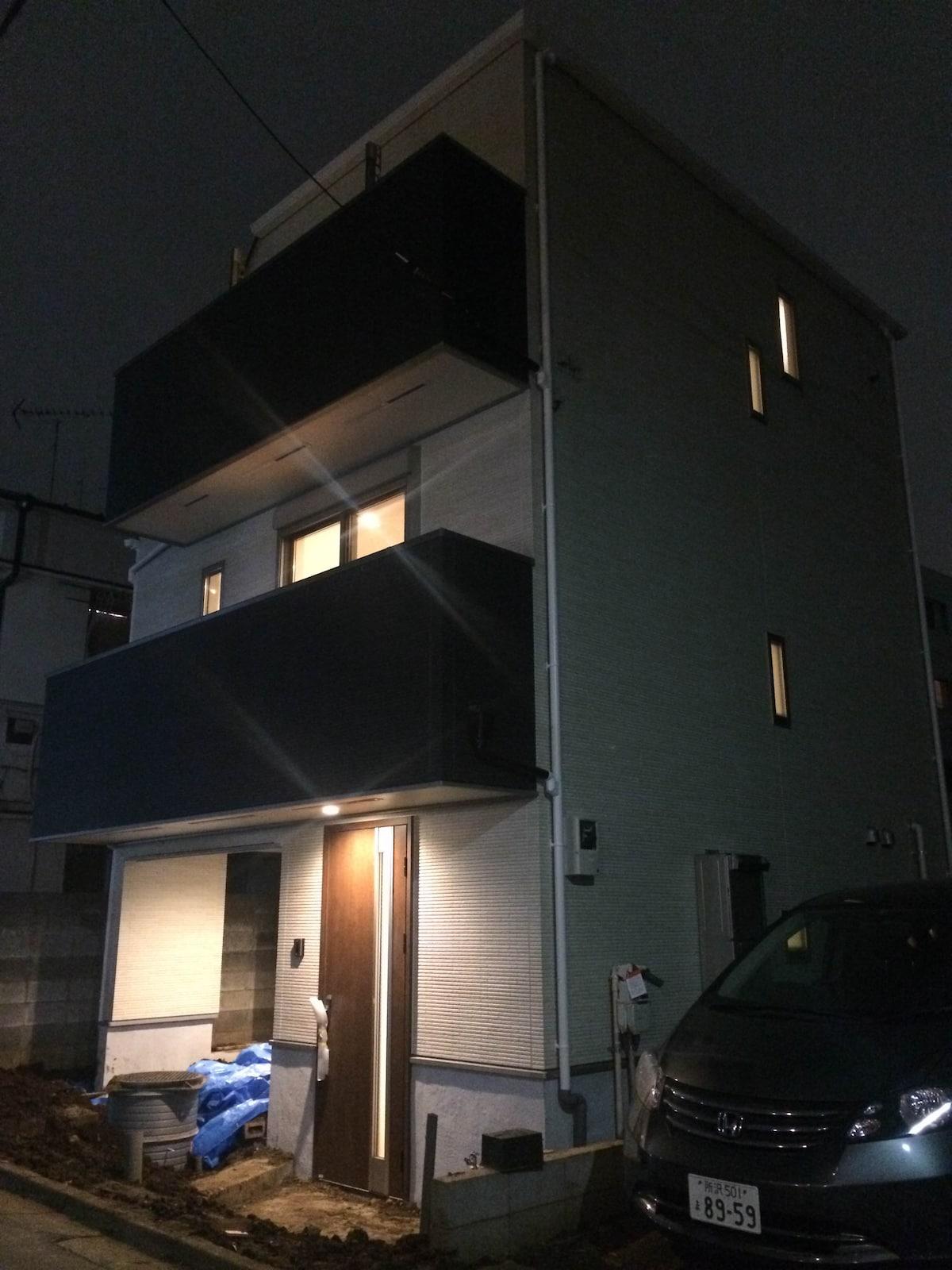 新宿駅から徒歩で帰れる家