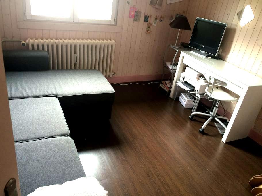 Chambres en petite montagne - Moirans-en-Montagne - Lägenhet