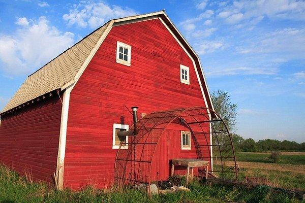 Glacial Till Farmhouse