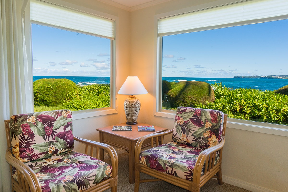 North Kauai oceanfront condo