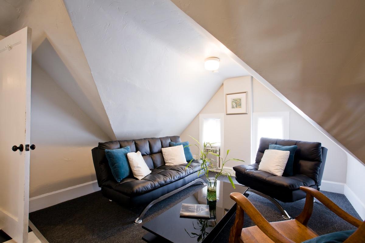 Quaint upstairs apartment